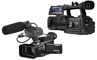 2 camcorders for store