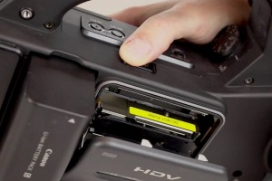 Canon XL H1 Will Not Eject Tape