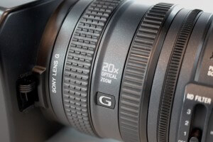Sony HDR-FX1000 Lens Repair