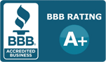 Sidebar BBB A-Plus Rating Button