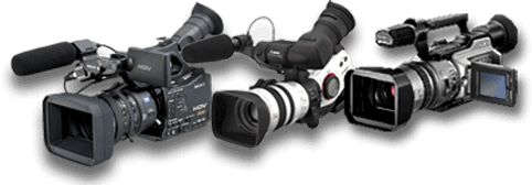 Sony-and-Canon-Camcorder-Array