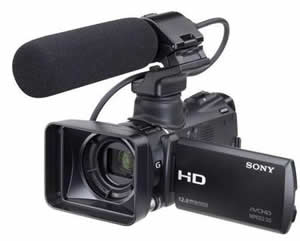 Sony HXR-MC50 Camcorder Repair