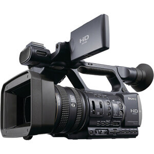 Sony HDR AX2000 Camcorder repairs